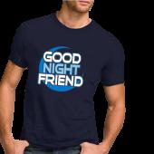 Nancy Grace Unisex Navy Tee- Good Night Friend