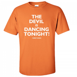 Nancy Grace Tangerine Tee- The Devil...