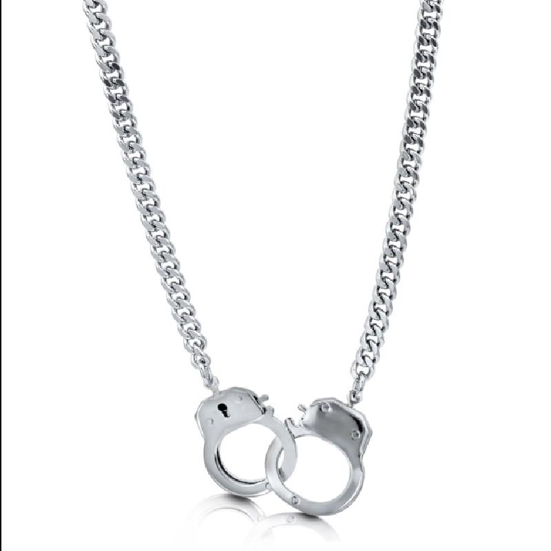 Nancy grace handcuff necklace nancy grace store view nancy grace handcuff necklace aloadofball Image collections