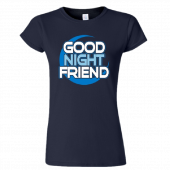 Nancy Grace Ladies Navy Tee