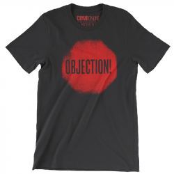 Crime Online Objection! Black Tee