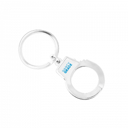 Nancy Grace Handcuff Keyring